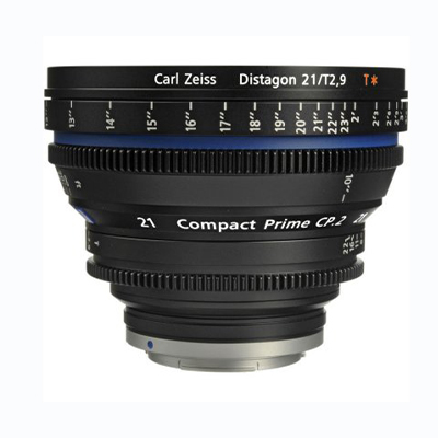 Zeiss Compact Prime CP.2 21mm T2.9 Cine Lens