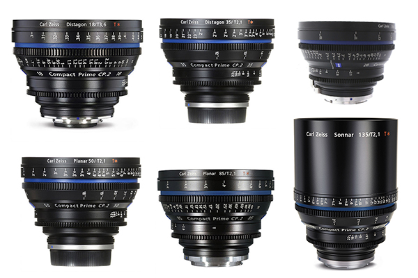 zeiss compact prime CP2 set-2