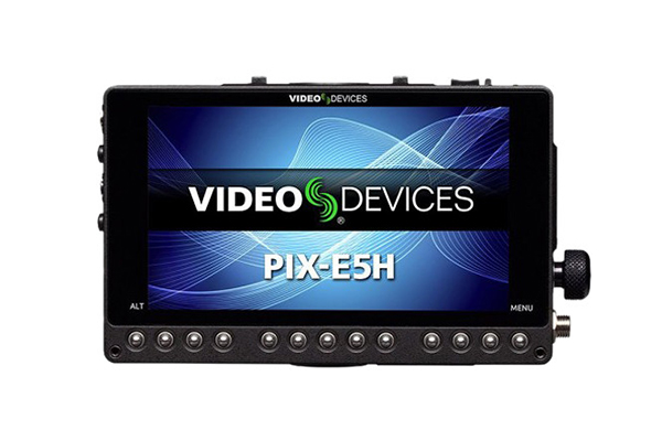 Video Devices PIX-E5H Monitör I Gürbüz Prodüksiyon