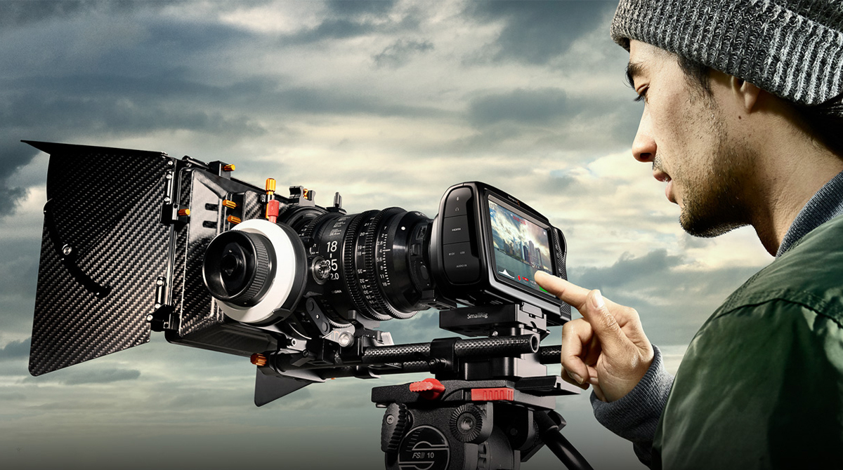 Blackmagic Pocket 4K Full Set-2